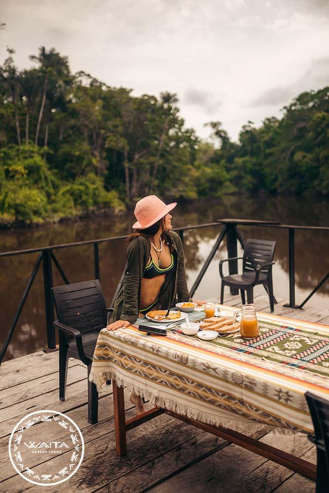 breakfast-cuyabeno-waita-lodge